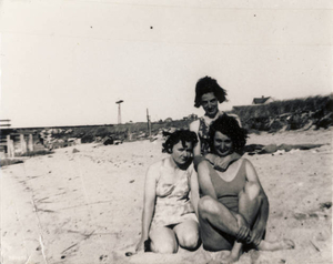 My aunt with friends on Truro Beach
