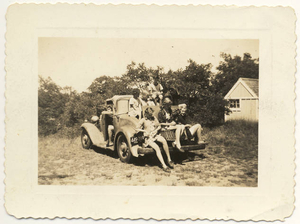 Our hupmobile full of adolescents