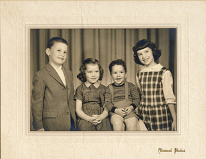 Four Sullivan siblings of 35 Marion Ave., Norwood, MA