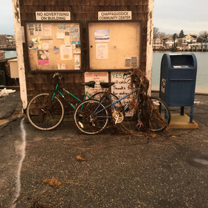 The dangers of parking your bike near the harbor
