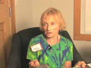 Cynthia Prelack at the Truro Mass. Memories Road Show: Video Interview