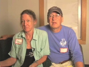 Dilys Staaterman, Peter Staaterman and Dilys Staaterman at the Truro Mass. Memories Road Show: Video Interview