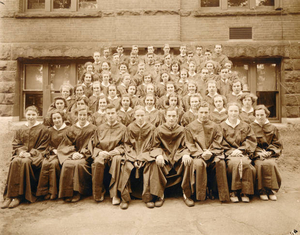 1937 graduating class from David Prouty High School