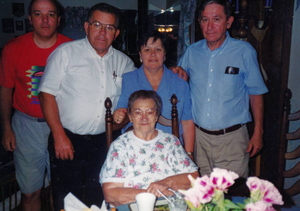 Family of Margaret and John Perry, deceased