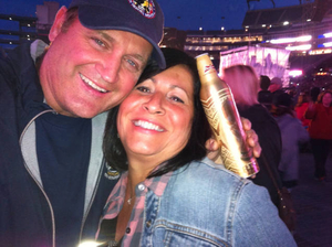 Denise and Butch partying with Kenny Chesney