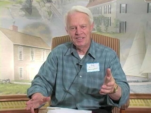 William J. Denneen at the Quincy Mass. Memories Road Show: Video Interview