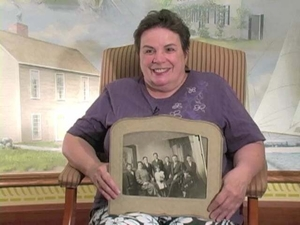 Patricia Oliverio Rodophele at the Quincy Mass. Memories Road Show: Video Interview