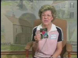 Elaine M. Caliri at the Quincy Mass. Memories Road Show: Video Interview