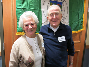 Catherine Whalen and Lawrence Whalen at the Marshfield Mass. Memories Road Show