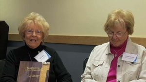 Betty Bates and Cynthia Hagar Krusell at the Marshfield Mass. Memories Road Show: Video Interview
