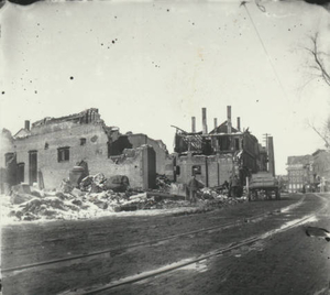 Amesbury's disastrous fire of 1899