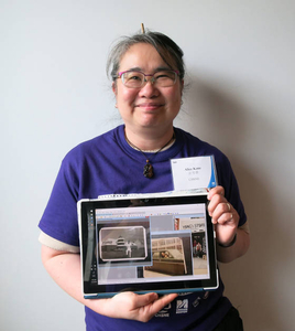 Alice Kane at the Chinese American Experiences Mass. Memories Road Show