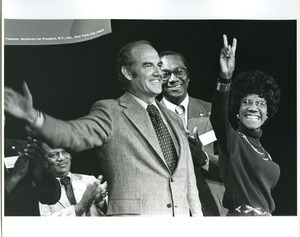George McGovern and Shirley Chisholm