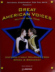 Great American voices military base tour