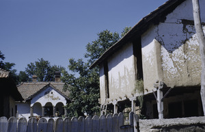 Prahovo village courtyard