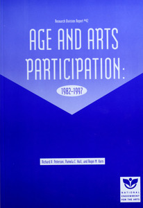 Age and arts participation