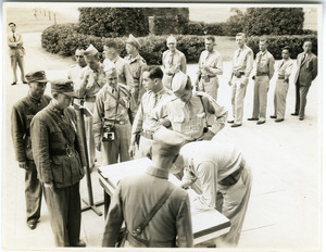 Japanese surrender at Nanjing