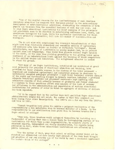Administration of Negro colleges [fragment]