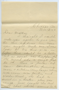 Letter from Adeline Kessel to Louisa Gass