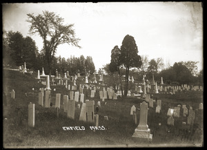 Enfield Cemetery (Enfield Center, Mass.)