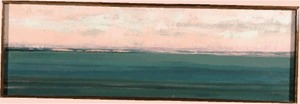 """""""Panorama of Long Pt. and Truro, Late Afternoon"""" Salvatore Del Deo (1928 - )"""