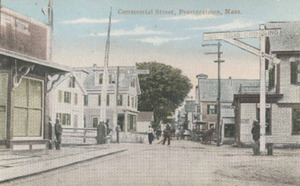 Commercial Street at Railroad Crossing #1