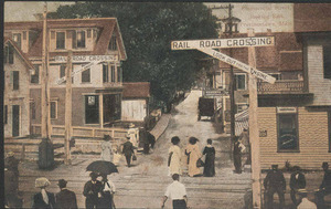 Commercial Street at Railroad Crossing #2
