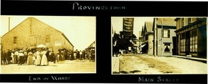 Commercial Street & Wharf Scene - Early Twentieth Century