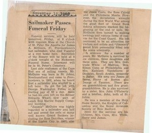 scrapbooks of Althea Boxell (1/19/1910 - 10/4/1988), Book 6, Page 107