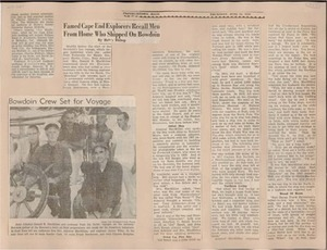 Scrapbooks of Althea Boxell (1/19/1910 - 10/4/1988), Book 7, Page 61