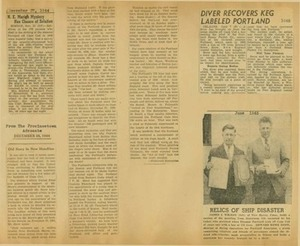 Scrapbooks of Althea Boxell (1/19/1910 - 10/4/1988), Book 8, Page 25
