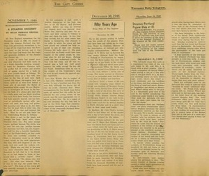 Scrapbooks of Althea Boxell (1/19/1910 - 10/4/1988), Book 8, Page 26