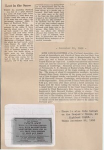 Scrapbooks of Althea Boxell (1/19/1910 - 10/4/1988), Book 8, Page 28