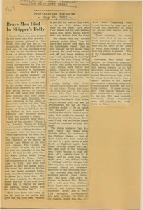 Scrapbooks of Althea Boxell (1/19/1910 - 10/4/1988), Book 8, Page 91