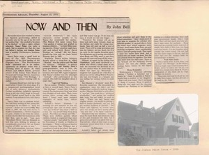 Scrapbooks of Althea Boxell (1/19/1910 - 10/4/1988), Book 9, Page 26