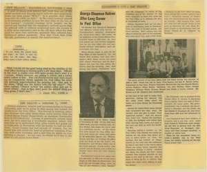 Scrapbooks of Althea Boxell (1/19/1910 - 10/4/1988), Book 9, Page100