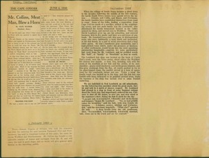 Scrapbooks of Althea Boxell (1/19/1910 - 10/4/1988), Book 9, Page112