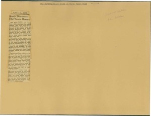 Scrapbooks of Althea Boxell (1/19/1910 - 10/4/1988), Book 9, Page118