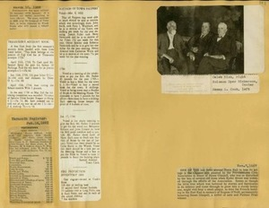 Scrapbooks of Althea Boxell (1/19/1910 - 10/4/1988), Book 9, Page199
