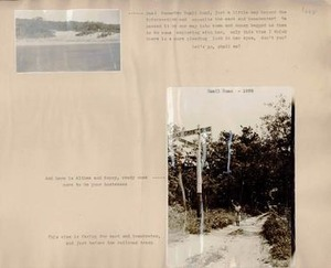 Scrapbooks of Althea Boxell (1/19/1910 - 10/4/1988), Book 10, Page 1