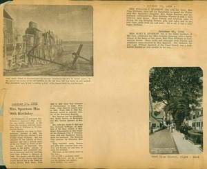 Scrapbooks of Althea Boxell (1/19/1910 - 10/4/1988), Book 11, Page 11
