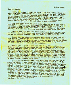Letter from Fritz and Jeanne to Mr. and Mrs. Bultman (Jan. 16,1948)