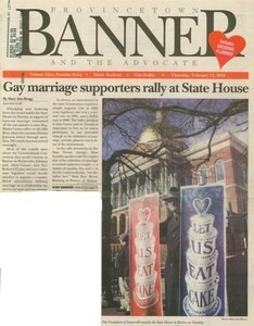 Gay Marriage Supporters Rally at State House