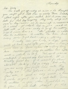 Letter from Jeanne to Fritz (undated)
