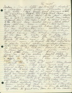Letter from Fritz to Jeanne (October 19, 1953)