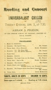 Abram S. Pigeon (April 3, 1888)