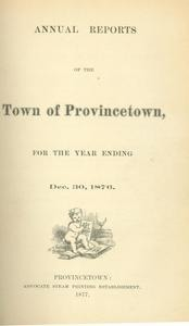 Annual Town Report - 1876