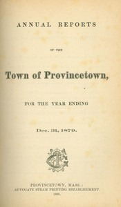 Annual Town Report - 1879