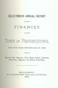 Annual Town Report - 1882