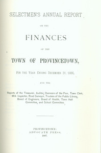 Annual Town Report - 1886